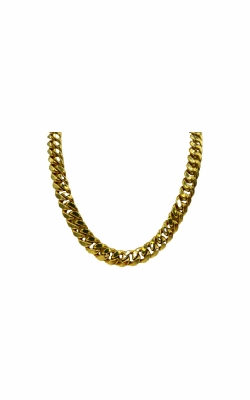 Albert's 10k Yellow Gold 24 In 7.2mm Semi-Solid Miami Cuban Chain product image