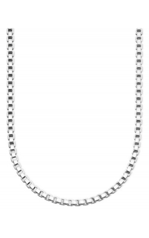 Albert's Chains Sterling Siver Chains Necklace QBX050-18 product image