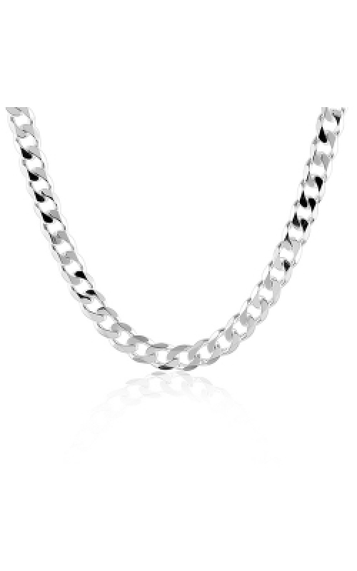Albert's Chains Sterling Siver Chains Necklace QCB120-18 product image