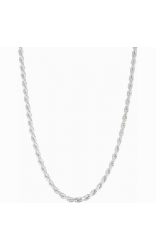 Albert's Chains Sterling Siver Chains Necklace QDR060-18 product image