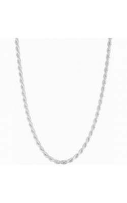Albert's Chains Sterling Siver Chains Necklace QDR060-24 product image