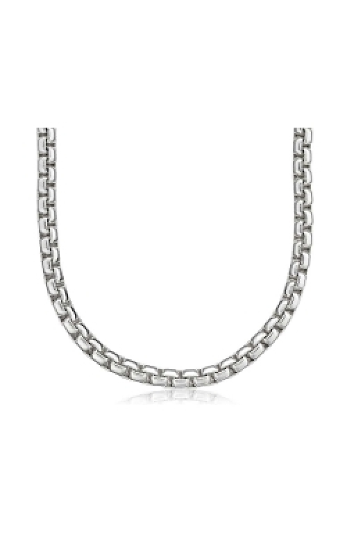 Albert's Chains Sterling Siver Chains Necklace QHX040-20 product image