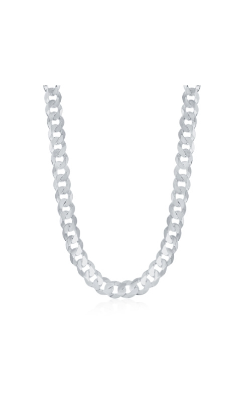 Albert's Sterling Silver 20 in 6.2mm Cuban Link Chain product image