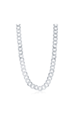 Albert's Sterling Silver 24 In 9.2mm Cuban Link Chain product image
