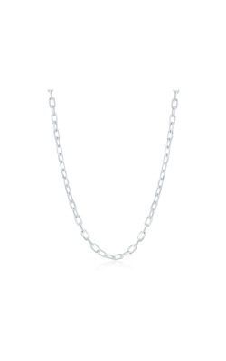 Albert's Sterling Silver 22 in 4.1mm Anchor Chain product image