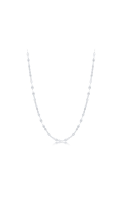 Albert's Sterling Silver 16 in Flat Mirror Chain product image