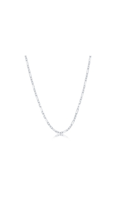 Albert's Sterling Silver 18 In 2mm 3+1 Anchor Chain product image
