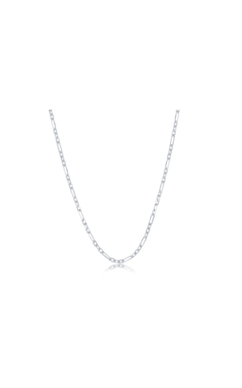 Albert's Sterling Silver 16 in 2mm 3+1 Anchor Chain product image