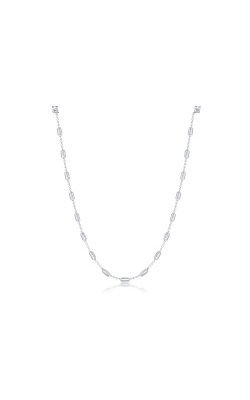 Albert's Sterling Silver 24 In Barrel Bead Chain  product image