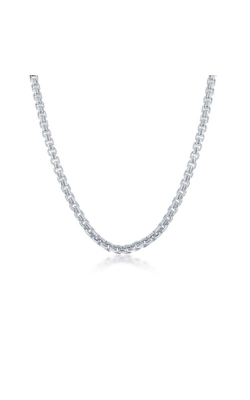 Albert's Sterling Silver 18 In 4mm Round Box Chain product image