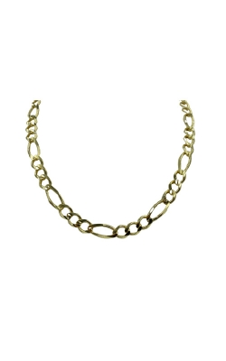 Albert's 10k Yellow Gold 22 In 7.1mm Figaro Chain product image