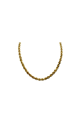 Albert's 10k Yellow Gold 24 In 2.75mm Diamond Cut Rope Chain product image