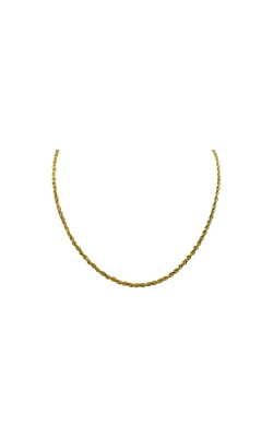 Albert's 10k Yellow Gold  24 In 2.25mm Diamond Cut Rope Chain product image
