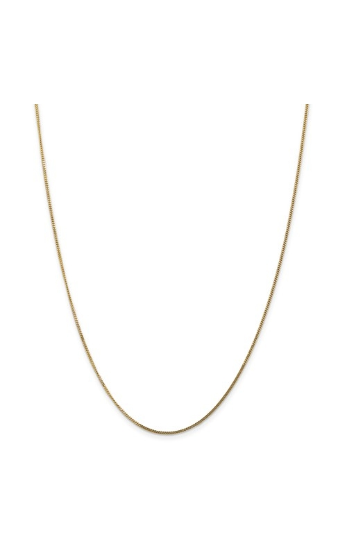 Albert's Chains 14k Gold Chains Necklace CURB13-18 product image