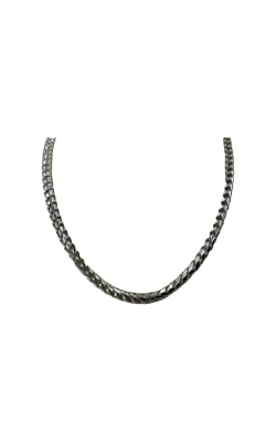 Albert's Sterling Silver 24 In 4mm Round Franco Chain  product image