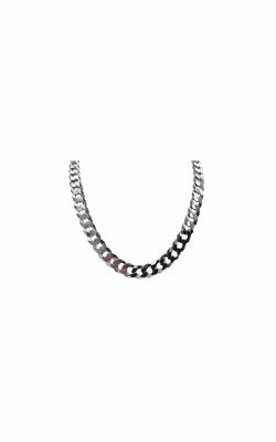 Albert's Sterling Silver 24 In 7.9mm Curb Chain product image