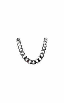 Albert's Sterling Silver 24 In 11.6mm Curb Chain product image