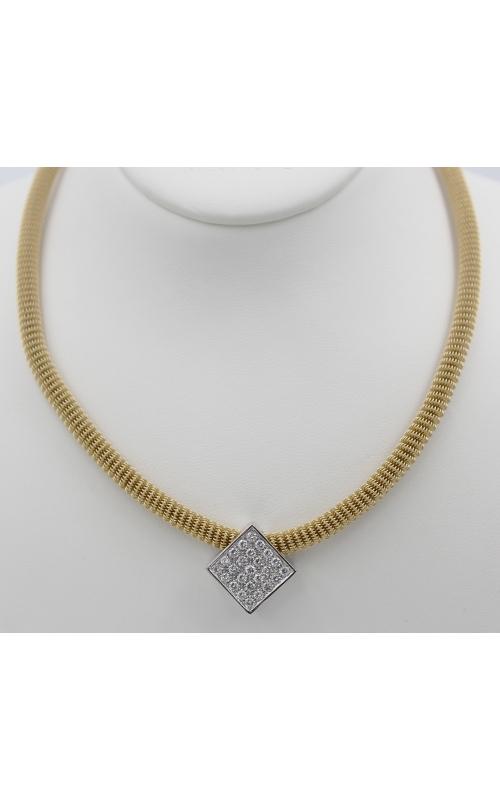 18K Y/G 1.00 CTW Diamond SLIDE necklace product image