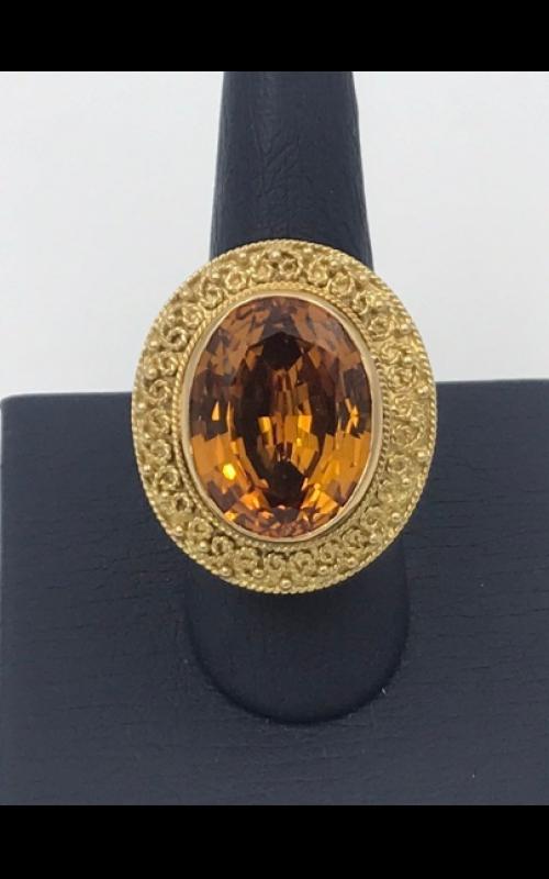 14k YG Citrine Fashion Ring product image