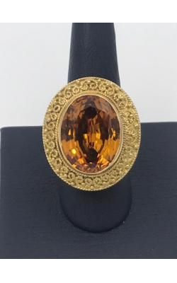 14k YG Citrine Fashion Ring product image
