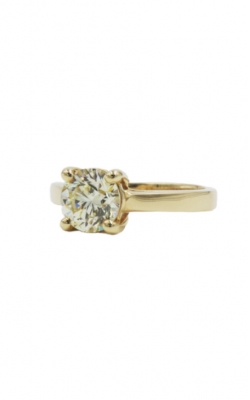 14k Yellow Gold 1.50ct Round Solitaire O SI2 product image