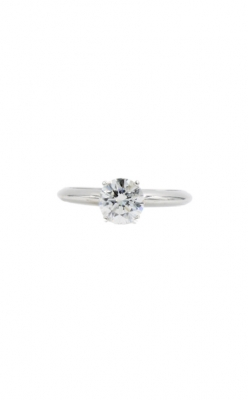 14k White Gold 1.03ct H I1 Round Diamond Engagement Ring product image