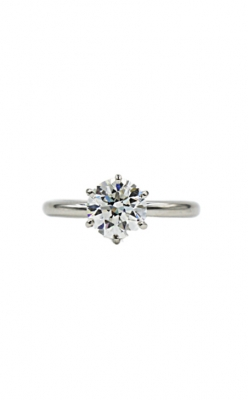 Tiffany & Co Platinum & 1.25 Round E VS1 Diamond Engagement Ring product image