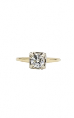 14k Yellow Gold & .50ct I I1 Round Diamond Solitaire Ring product image