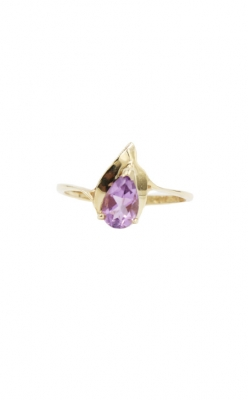 10k Yellow Gold & .65ct Amethyst Ring product image