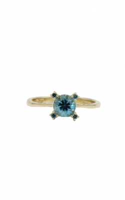 14k Yellow Gold & 1.13ct Zircon Ring product image