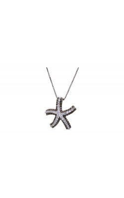 14K W/G 1.85 CTW Diamond STARFISH Pendant product image