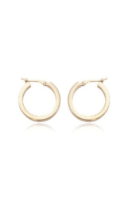 Albert's 14k Yellow Gold Square Tube Hoops 03/105 product image