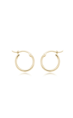 Albert's 14k Yellow Gold Small Polished Hoop Earrings 03-356 product image