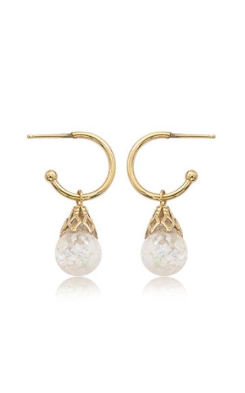 Albert's 14k Yellow Gold & 8mm Opal Earrings 03/607 product image