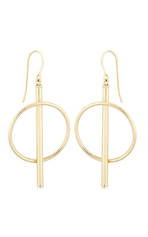 Albert's 14k Yellow Gold Orbit Drop Earrings 03/610 product image