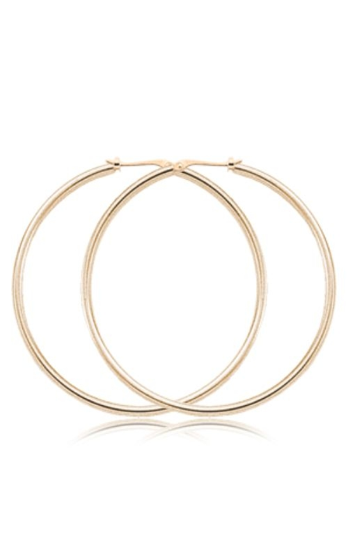 Albert's 14k Yellow Gold 1.5mmx50mm Hoops 03/782 product image