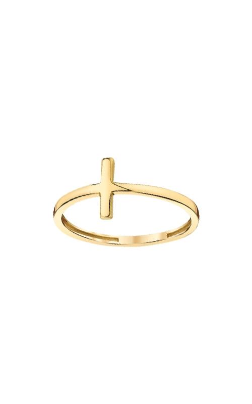 Albert's 10k Yellow Gold Cross Ring 10KRCRS-7 product image
