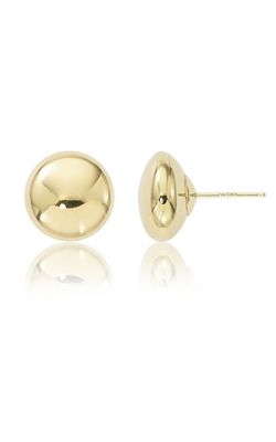 14k Yellow Gold Ball Earrings product image