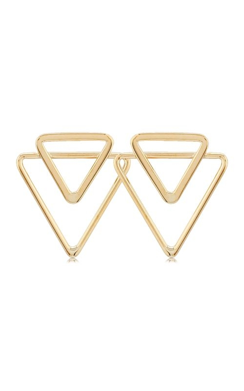 Albert's 14k Yellow Gold Double Open Triangle 14368 product image
