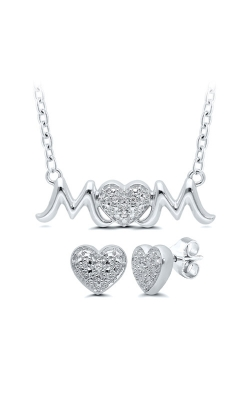 Albert's Sterling Silver Mom Diamond Gift Set 211510027W-02 product image