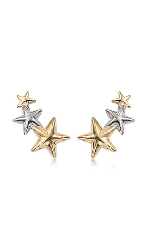 Albert's 14k Two-Tone Triple Star Climber 21/3221YW product image