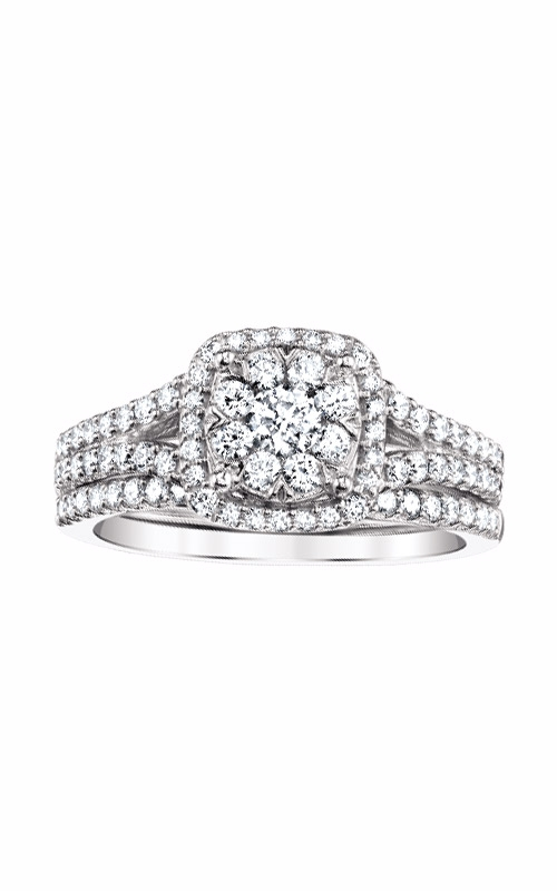 Albert's 14k White Gold Engagement Ring RB-6327BB-B564RW product image