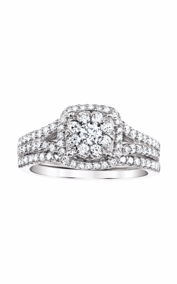 Albert's 14k White Gold 1ctw Engagement Ring Set RB-6327BB-B564RW product image