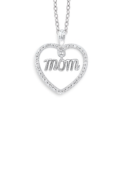Albert's Sterling Silver Diamond Mom Pendant 2428360067W product image