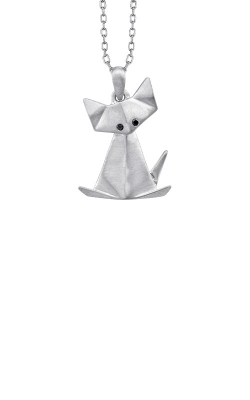 Albert's Sterling Silver Cat Origami Pendant 2450190017W product image