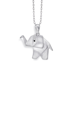 Albert's Sterling Silver Origami Elephant Pendant 2451000017W product image