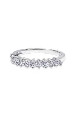 Albert's 14k White Gold 1/4ctw Baguette Fashion Ring 2534990254W-01 product image