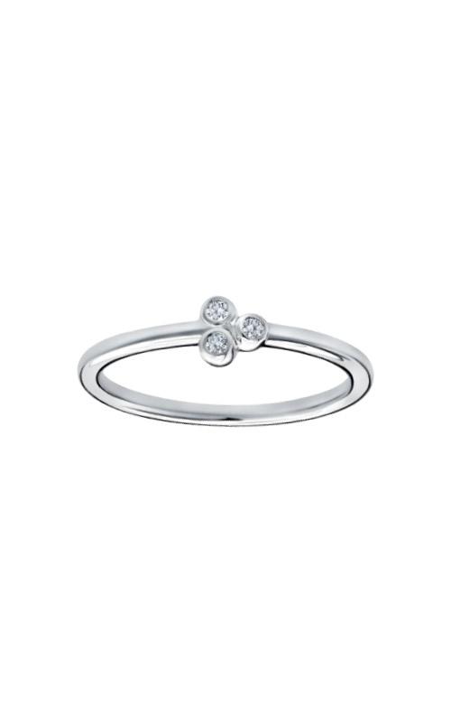 Albert's 10k White Gold .05ctw Diamond Ring 2537590050W-01 product image