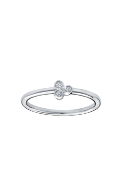 Albert's 10k White Gold .05ctw Diamond Ring 2537590050W-01 product image