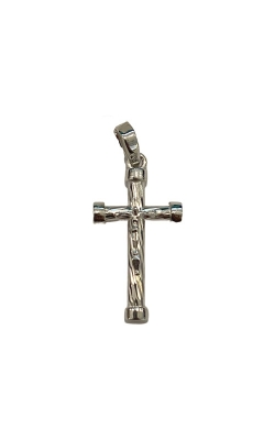 Albert's 14k White Gold Crucifix 2919 product image